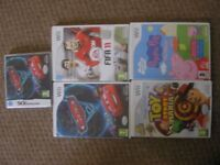 4 x Wii games, Peppa Pig, Toy Story, Cars 2 & Fifa 11