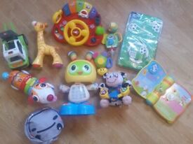 Collection of Children's Toys Party Kit + 35 Mexican Jumping Beans (new) All In Good Working Order
