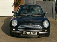 2004 Mini Cooper in Black