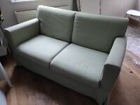 Sofa (has WHITE 2nd set changeable covers) 2 seater Ikea settee