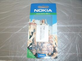 Nokia Rechargeable Mobile Phone Battery - fits 3310/3330 or other compatible - £4.00 only
