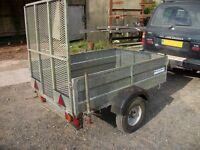 trailer galvanised 6x4