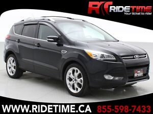 2013 Ford Escape Titanium 4WD - Leather, Panoramic Roof, Navigat