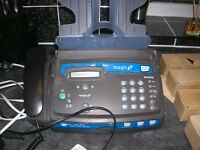 Phillips magic 2 fax machine