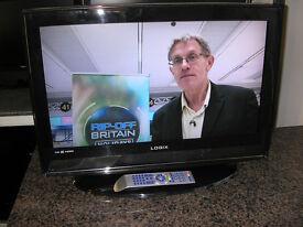 """LOGIX 26"""" LCD TV"""