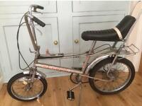 Wanted all Raleigh Choppers, etc - top cash paid ! Bike