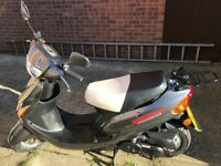 Direct Bikes 50cc Scooter Dark Grey