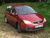 Ford Focus C-Max Zetec 1.6 Petrol MPV 2006