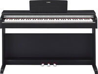 Yamaha Arius YDP-142 Digital Piano in Satin Black Full Size weighted keys 3 pedals
