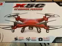 GoolRC Syma X5C Drone Remote Control RC Quadcopter 2.0MP HD Camera Drone (NEW & UNOPENED)