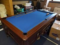 Slate bed Pool Table 7x4ft.