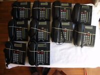 BT T7208 SYSTEM PHONES. X10. IN FULL WORKING ORDER. CHARCOAL
