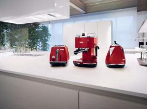Delonghi 2 Slice Red Toaster CTO2003R