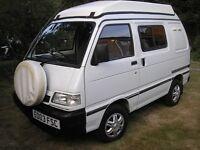 Daihatsu Campervan 2 berth, new MOT