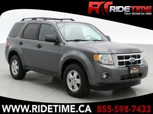 2011 Ford Escape XLT - Leather, 3.0L V6, Sunroof, FWD