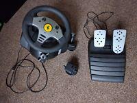 Thrustmaster Force Feedback Racing Wheel PC