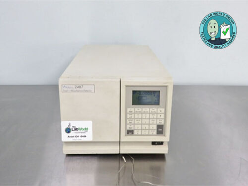 Waters 2487 Dual Wavelength Absorbance Detector with Warranty SEE VIDEO