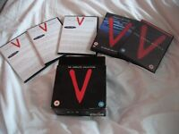 V DVD collection