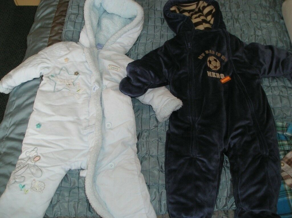 e1d5237ea 1 images BABY BOYS SNOW SUITS X 2 age 6-9 mths Mossley Hill ...