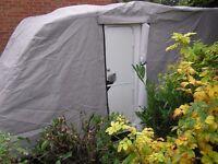 Pro-Tec Caravan cover 16ft x 7ft.4 Silver