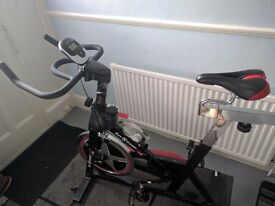 We R Sports Aerobic Training Cycle Exercise Bike Fitness Cardio Workout Home Cycling Spin Machine