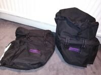 ProAction twin Pannier Bags. Good Condition. Used for Cycle touring / shopping