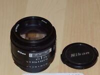 Nikon AF 50mm 1.4 Camera Lens