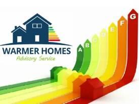 Free government backed ECO grants / Loft & Cavity Insulation / Heating Upgrades