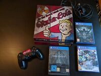 PlayStation 4 + 1 controller + 3 games