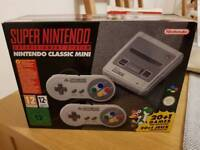 Brand New/Unopened SNES Mini