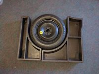 Spare Wheel, False Floor, jack and towing eye for Ford Focus including ST and RS models 125/85/ R16