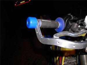 SUPERMOTO BAR END SLIDERS KTM APRILIA SUZUKI FITS ALL SUPERMOTO HAND GUARDS R6D6