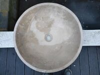 Hand Crafted Marble Basin