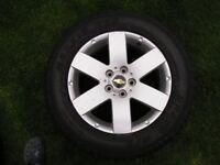 4 Vauxhall/Chevrolet Antara/Captiva alloy wheels