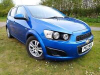 2013 Chevrolet, AVEO 1.2, ONLY 22000 MILES, £30 PER YEAR ROAD TAX, MOT - April 2022 no advisories