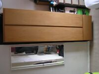 Quality bedroom furniture set. Two matching single wardrobes and a chest of drawers