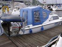 BOAT Norman 18 ft Cabin Cruiser