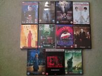 Horror DVDs job lot