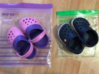Crocs, Size 4-5 & 6