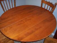 Dining room set - solid maple