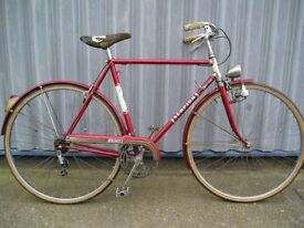 Classic Italian Sempion town bike
