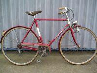 Classic Italian Sempion town bike