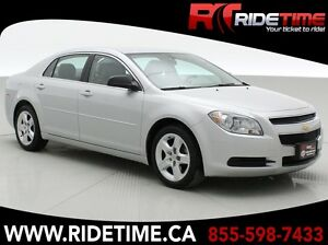 2012 Chevrolet Malibu LS - Low Mileage, Automatic