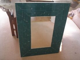 MIRROR.. MOSAIC ..LARGE.. SUPERB.. NEW... Look great as a pair in bathroom