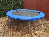 8 Foot used trampoline offers welcome prepared to go cheaper ust go wthin next few days ty