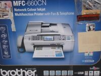 Brother Multifunction Printer with Fax & Telephone
