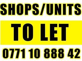 Stratford road shop/office/unit to let Birmingham prone location
