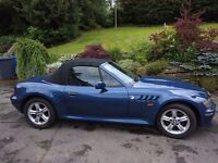 Much loved BMW Z3 2.0, 150BHP, Blue - reluctantly selling due to moving abroad