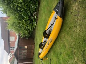 Sevylor Sport SK200DS whitewater inflatable kayak