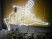 neon raindeer